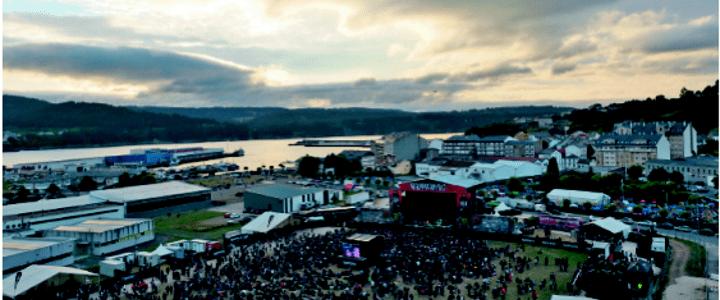Aerocamaras sobrevuela el Resurrection Fest 2015