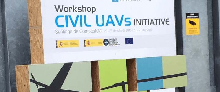 Aerocamaras participa en el Workshop Civil UAVs Initiative