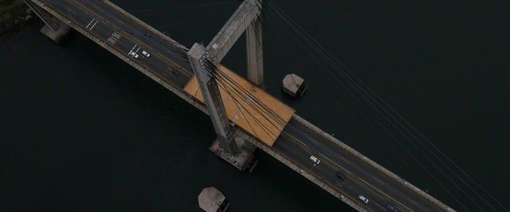 Aerocamaras sobre el Puente de Rande