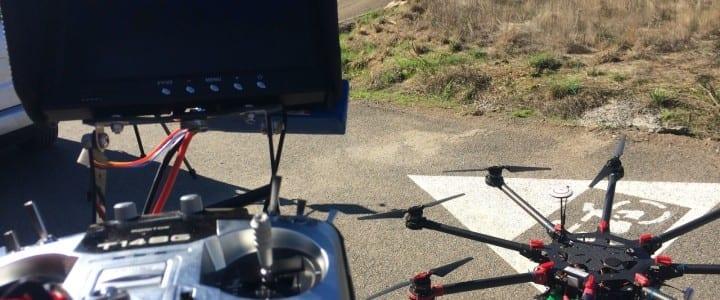 La firma Aerocámaras ofrece en Ourense un curso de piloto de dron