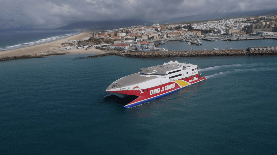 Buques FRS en Estrecho de Gibraltar