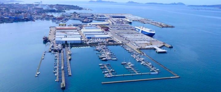 Inspección de las naves del puerto de Vigo