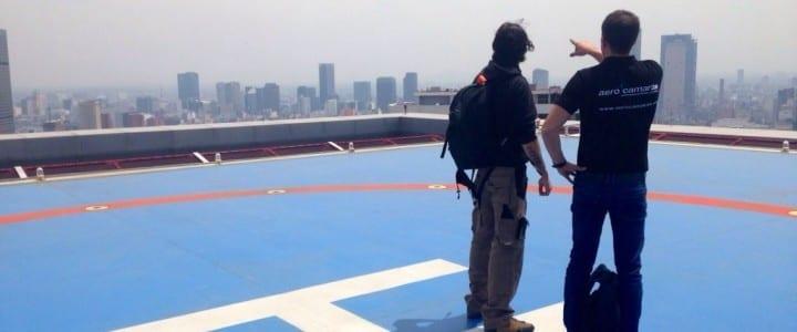 Aerocámaras filmó en México D. F. el centro operativo de Bancomer