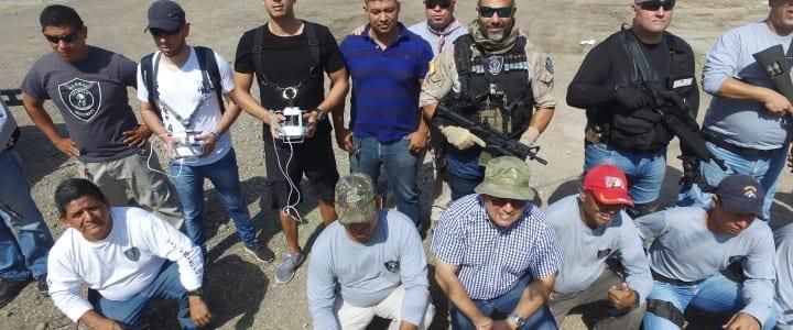 Drones de Lalín se usan en Honduras para formar a los profesionales de la seguridad