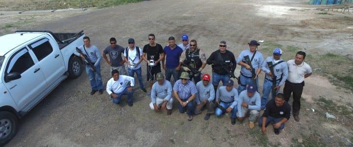 Drones gallegos forman a firmas de seguridad en Honduras