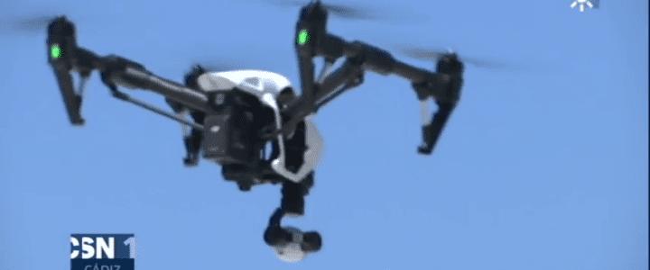 """""""Jornadas sobre drones y sus aplicaciones"""" en Canal SUR"""