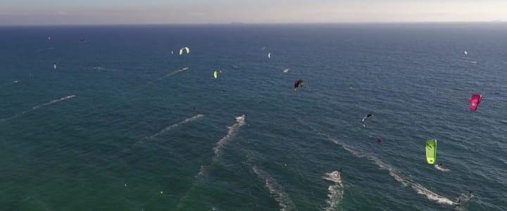 I Cruce del Estrecho en Kite Surf
