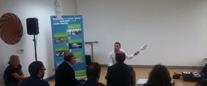 Charla sobre drones en el Parque Tecnológico de Galicia