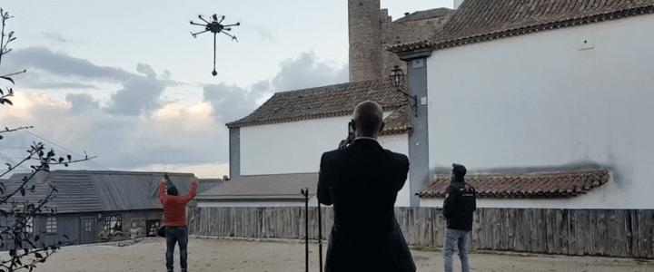 Aerocámaras graba desde el aire en vídeo de 360 grados