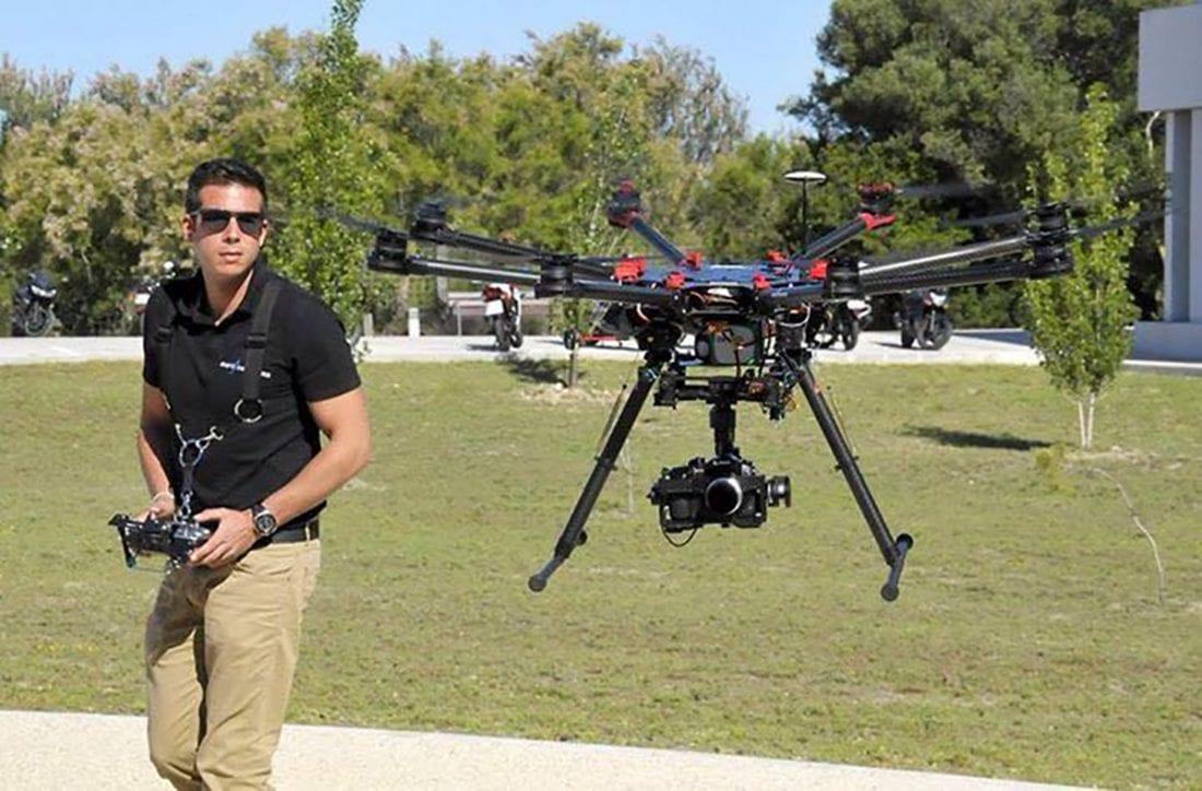 Entrevista drone faro seguridad