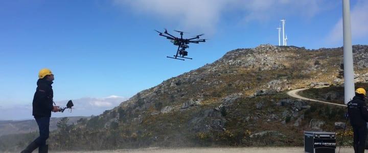 De Orense a California en dron