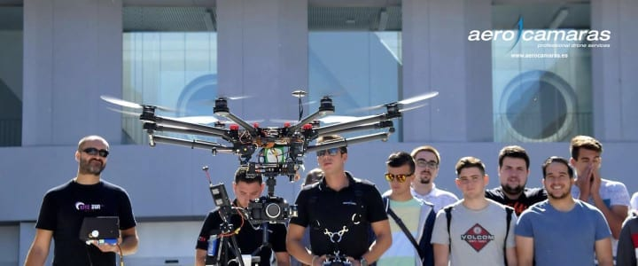 Primer congreso sobre drones en Galicia