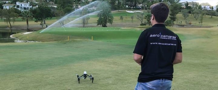 """Filmamos el """"Club de Golf Las Brisas"""" con drone"""