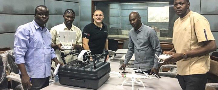 Los drones profesionales de Aerocamaras sobrevuelan Mali