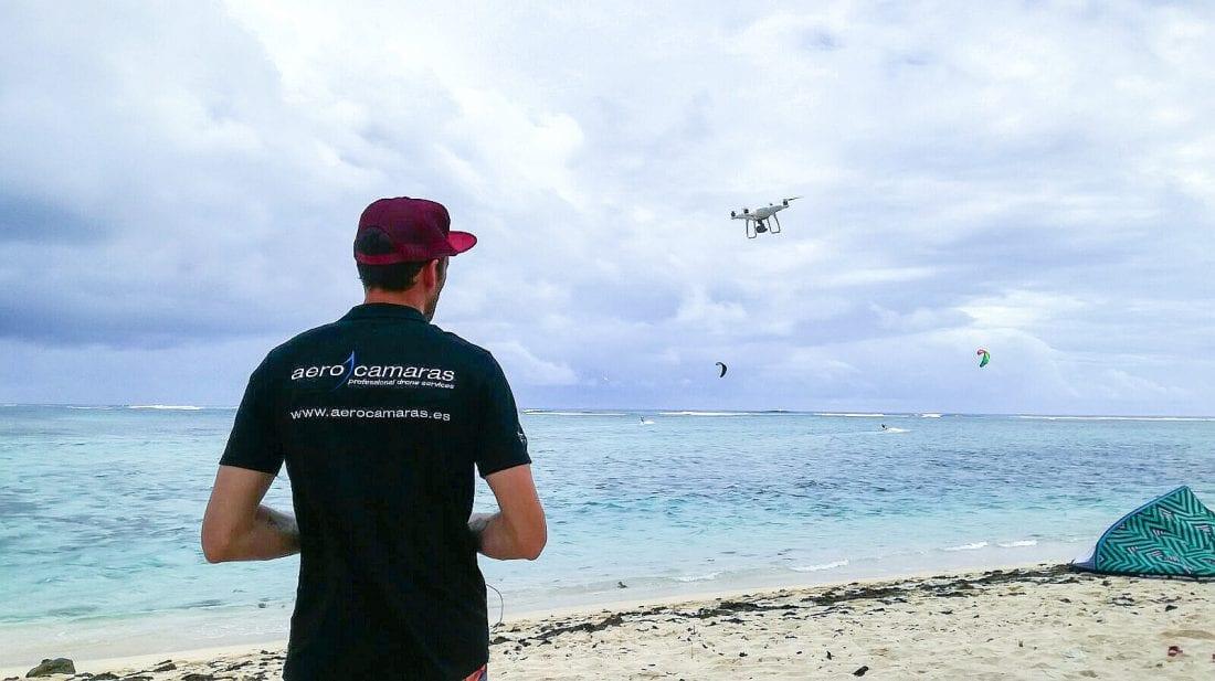 Islas mauricio aerocamaras drones profesionales