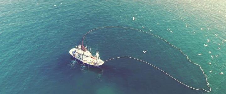 Volamos de nuevo sobre el estrecho de Gibraltar para el nuevo spot publicitario de AKAI-TUNA
