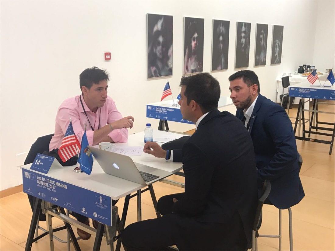 Encuentro de Aerocamaras en la Misión Comercial de Ourense