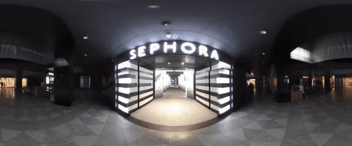Sephora Internacional se suma a la tendencia 360˚ de los drones de Aerocamaras