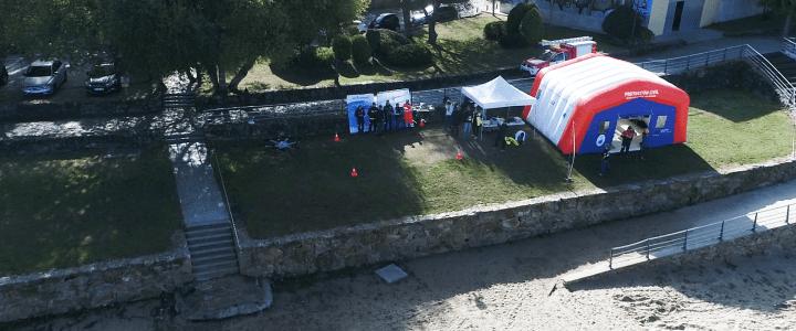 Aerocamaras, pionera en formar a una unidad de drones en Emergencias