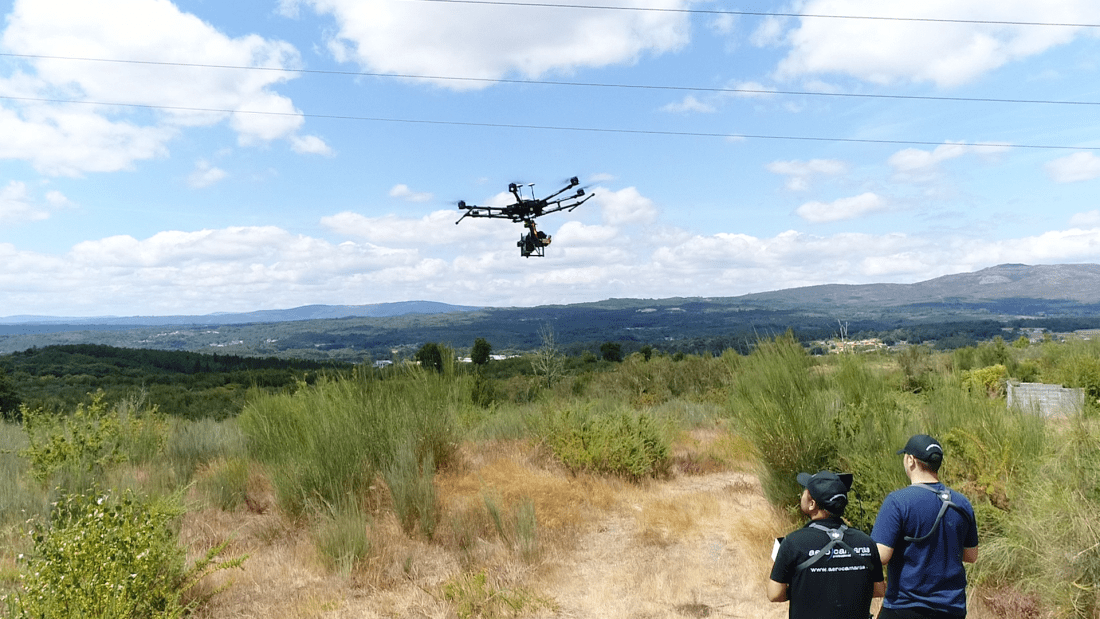 Inspecciones con drones Aerocamaras