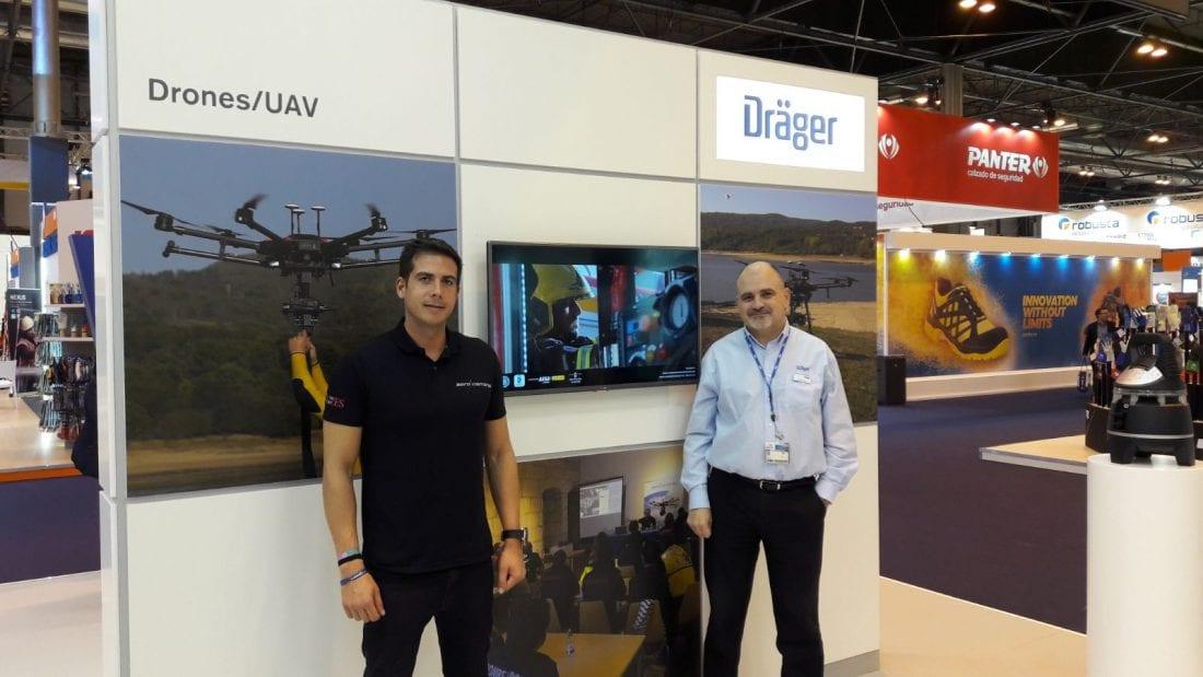 Aerocamaras y Dräger se unen para liderar el sector de las emergencias en España y Portugal