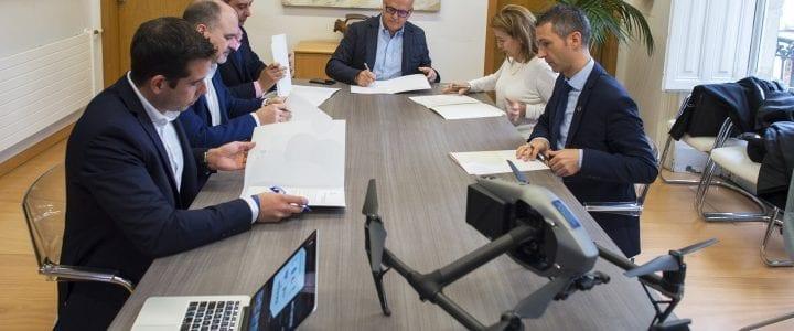La Diputación de Ourense impulsa un Grupo Nacional de Expertos en Seguridad y Emergencias con Drones