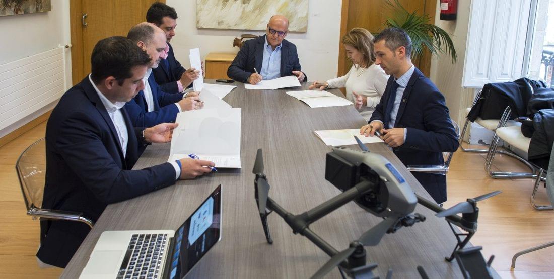 Reunión del Grupo de Expertos en Seguridad y Emergencias con Drones