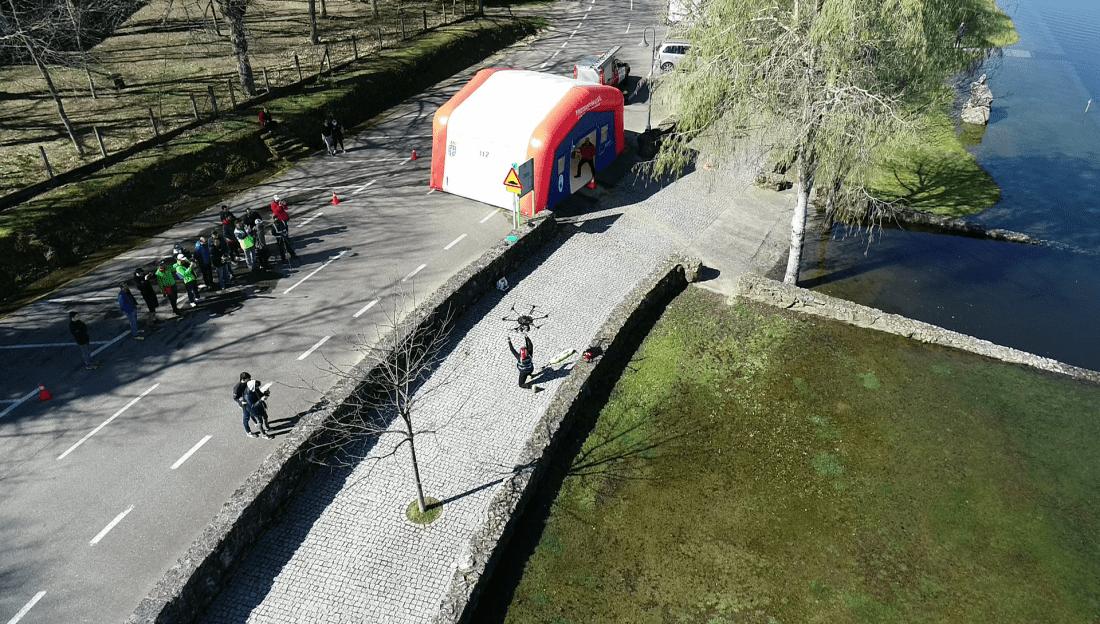 Drones para situaciones de emergencias Ourense