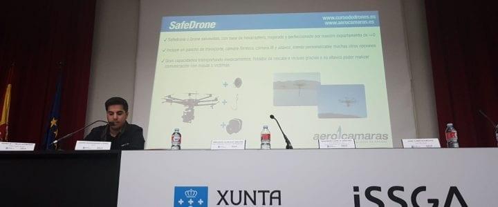 """Aerocamaras participa en la jornada de """"Seguridade na Industria 4.0"""" organizada por ISSGA y Ageinco"""