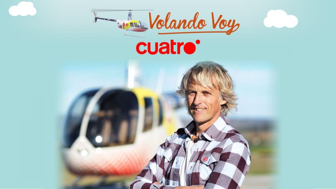 Aerocamaras colabora con Jesús Calleja