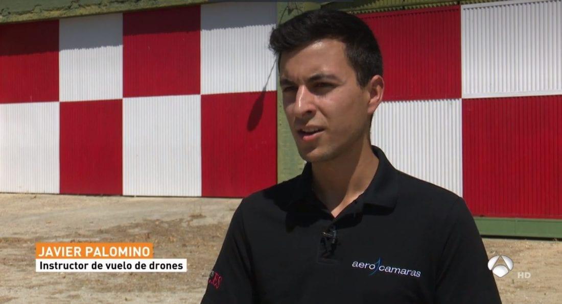 Antena 3 Noticias estuvo con Aerocamaras - Piloto de Drone la Profesión del Futuro