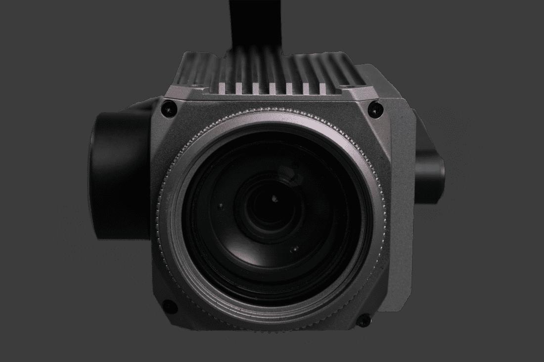Cámara de 30 aumentos del dron híbrido