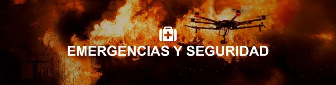 Servicio Emergencias y Seguridad con drones