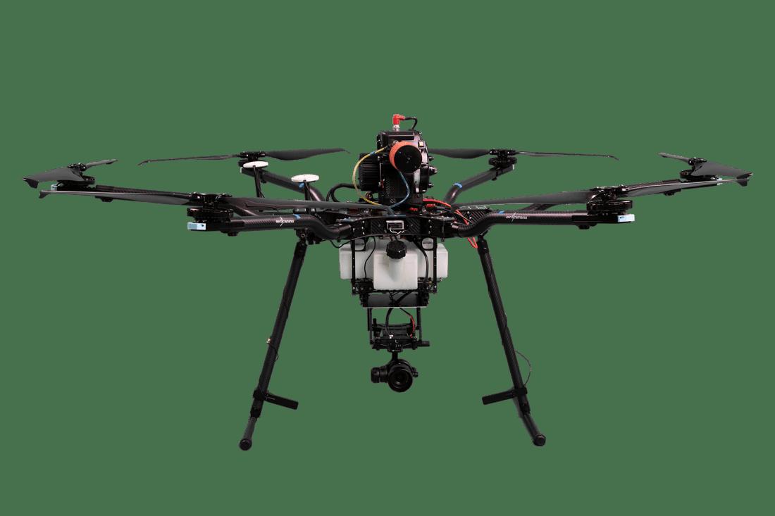 Aerohíbrido, el dron hibrido de Aerocamaras