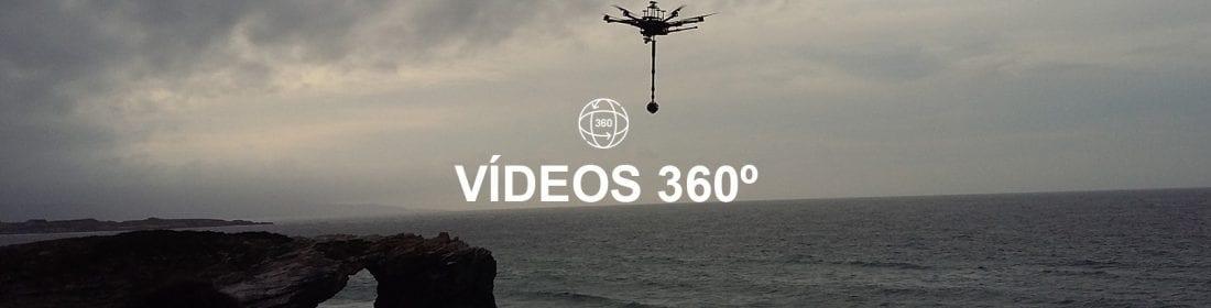Servicio Videos 360 con drones