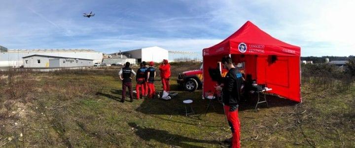 Treinta profesionales conocen el uso de drones en labores de rescate