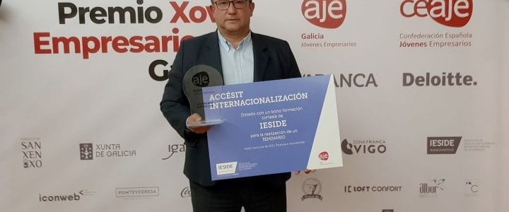AJE Galicia concede a Aerocamaras el premio a la Internacionalización