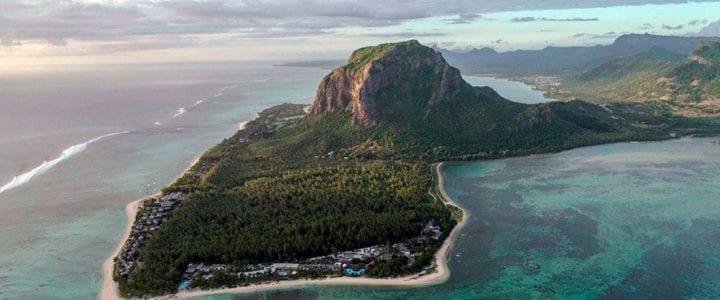 Aerocamaras sobrevuela con sus drones profesionales a los mejores kiters del mundo en las Islas Mauricio