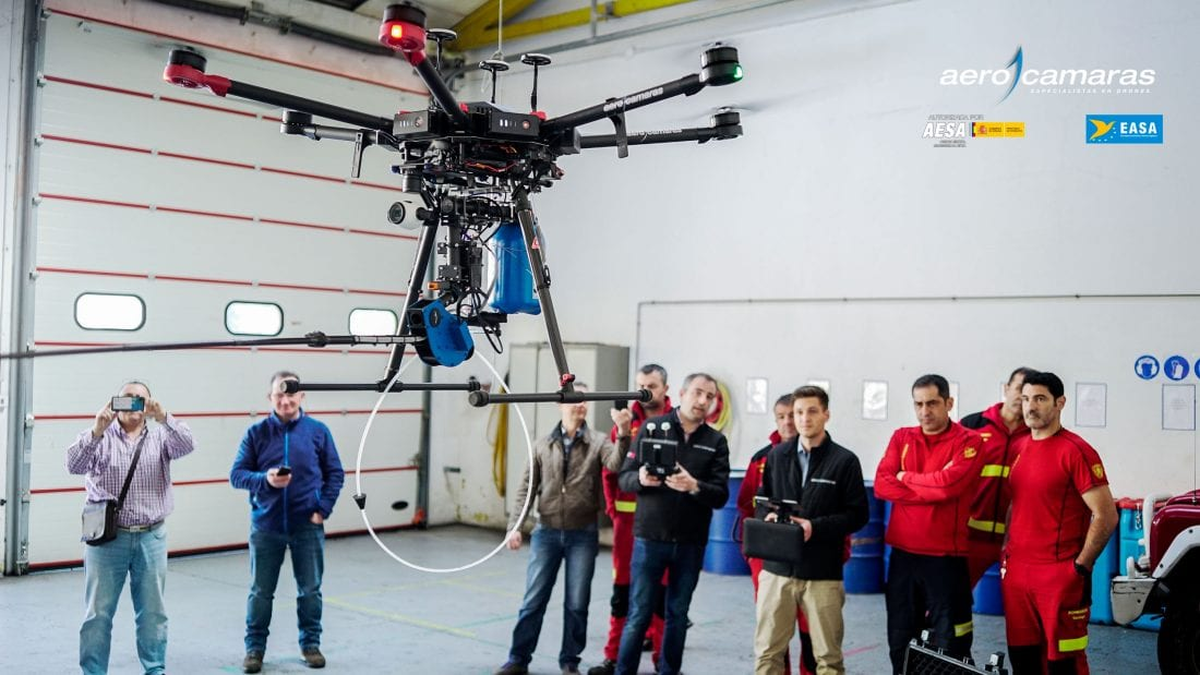 Dron Velutina de Aerocamaras