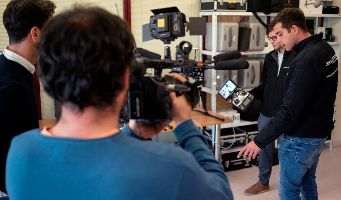 Reportaje de la TVG sobre Aerocamaras