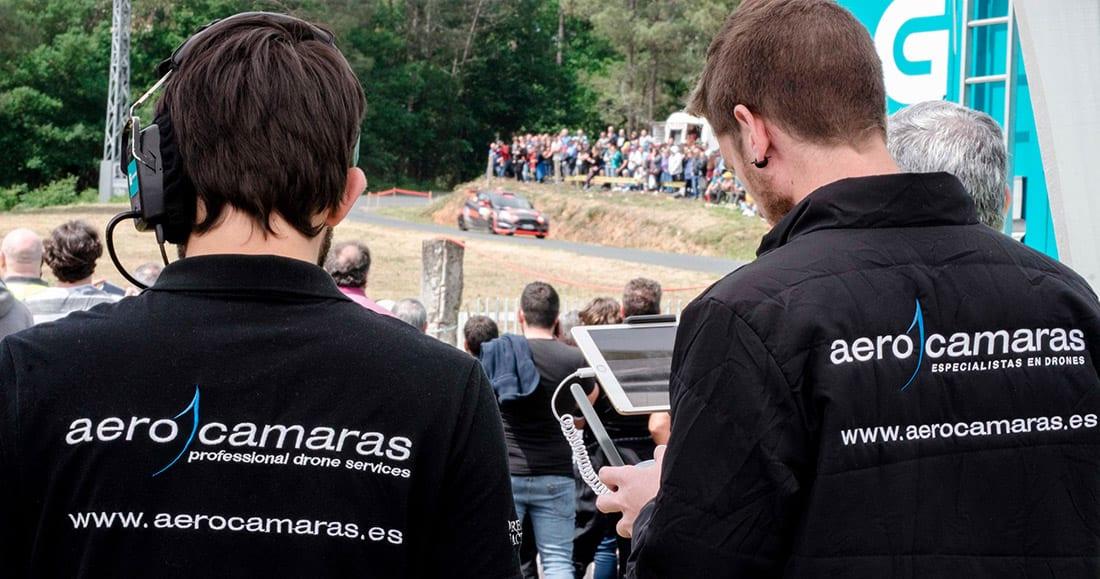 Aerocamaras - Rally de Ourense en directo