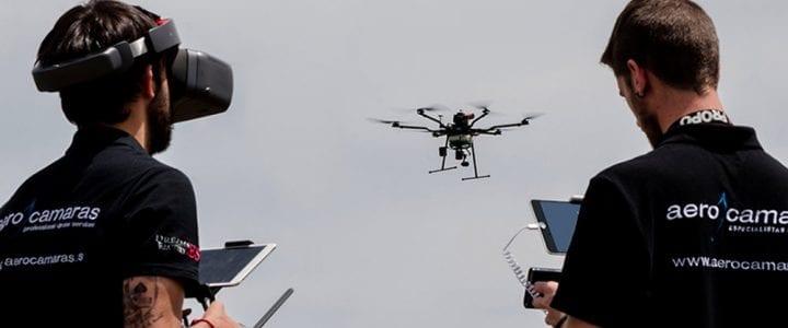 Aerocamaras presenta en Expodrónica su AeroHyb, el dron con mayor autonomía de vuelo del mundo