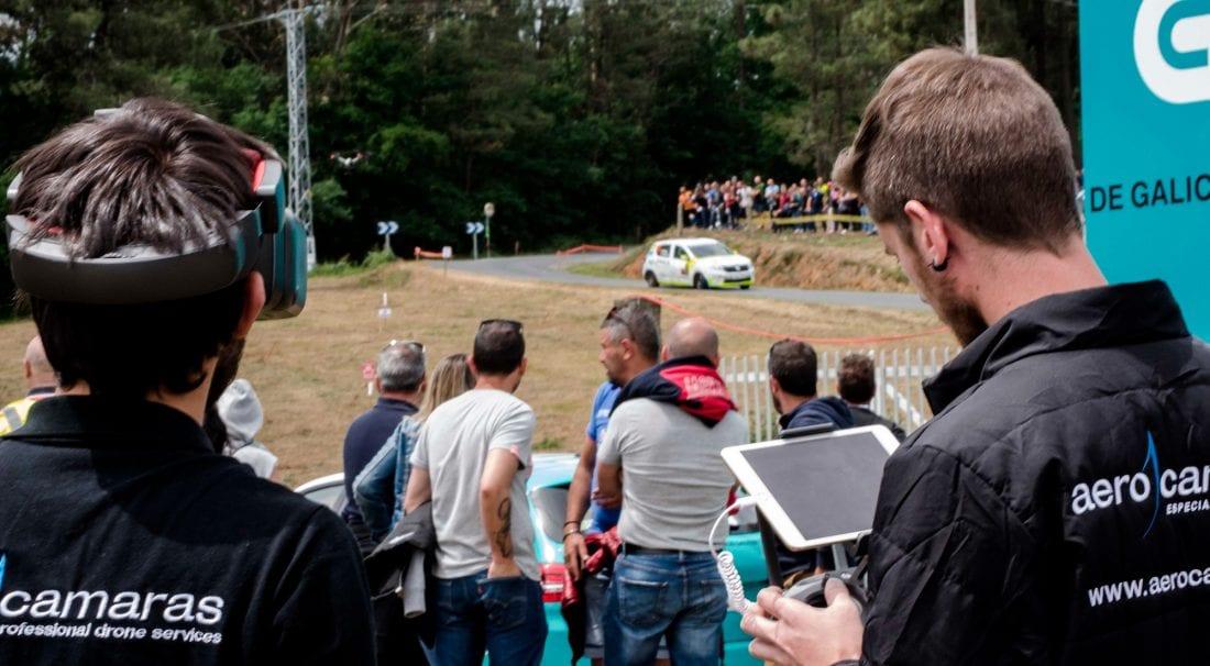 Aerocamaras Especialistas en Drones en el Rally de Ourense