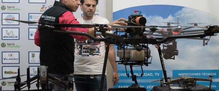 Aerocamaras, primera empresa en utilizar drones para realizar vuelos de seguridad en tramos de rallys