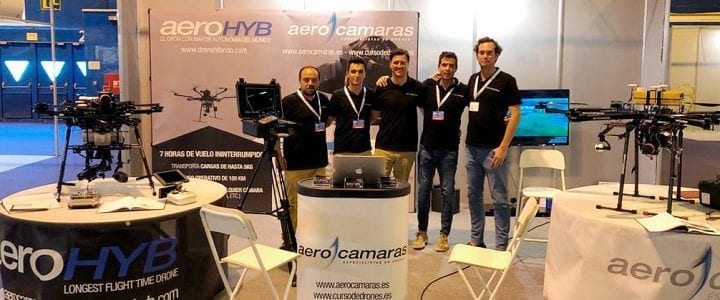 El AeroHyb conquistó a los asistentes de Expodrónica 2019