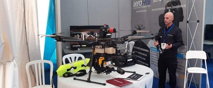 Aerocamaras asiste a Drones Policiales 2019 en Benidorm
