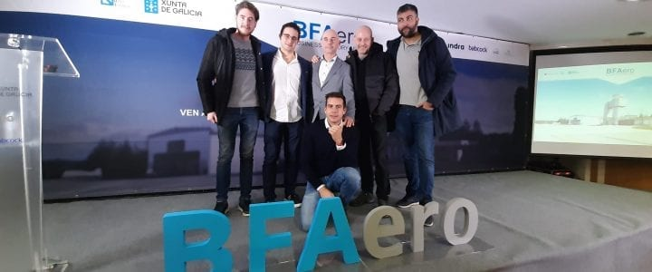 El drone que acabará con la avispa velutina | Premios BFAero