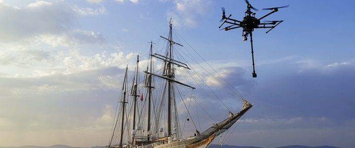 Globo de Oro al mejor contenido VR para el documental 'Elcano 360º' de RTVE y Visyon con el 360º de Aerocamaras