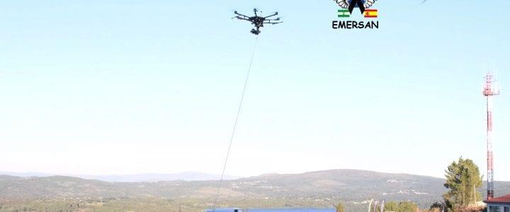 EMERSAN y Aerocamaras apuestan por la formación en materia de drones