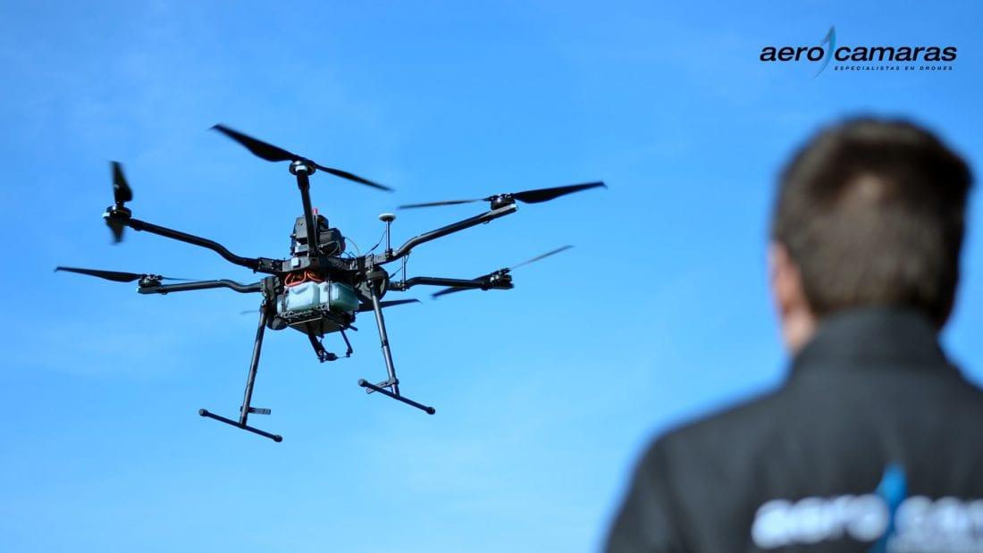 Donde se puede volar drones